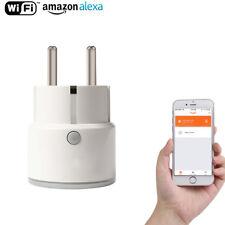 WiFi Smart EU Plug Mini Wireless Smart Outlet For Alexa Echo,Google Home IFTT