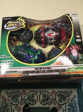 Wrecker Bot vs. Mantisector Twin Pack Head Shotz Wireless RC Battle Balls Remote