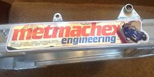 Metmachex engineering alloy swing arm decals / stickers / emblems (x2 )