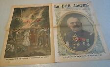 LE PETIT JOURNAL du 16 septembre 1917. LE GENERAL MAISTRE commandant d'armée