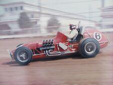 """5 Different 1960's Professional Race Car KODAK 14 x 11"""" Photos A J FOYT & More"""