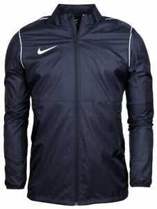 Nike Men's Rain Coat Jacket Park 20 Navy Windbreaker Sport Football BV6881-410