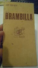 LISTINO PREZZI 1974 - BRAMBILLA UTENSILERIA MECCANICA - MILANO -  (L-5)
