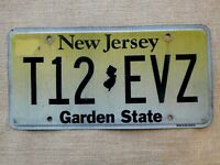 American number licence plate New Jersey vintage old car genuine USA