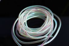 10m Assorted Mylar Holographic Tinsel Flat Braid Chenille Crystal Flash Line