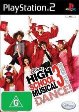 Disney High School Musical 3: Senior Year Dance! *NEW* PS2