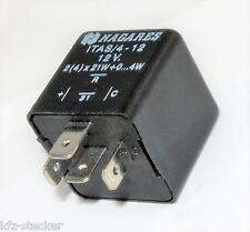 Universal LED Blinkgeber Blinkrelais 12V 2(4)x 21W +0-4W 4polig Flasher Nagares
