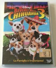 BEVERLY HILLS CHIHUAHUA 3 DISNEY FILM DVD ITALIANO COME NUOVO EDITORIALE