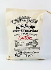 Christmas Santa Sack Gift Bag | Christmas Express | Personalised