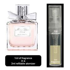 1ml Spray Atomizer & Perfume & Sample of Miss Dior Cherie DIOR Eau De Toilette