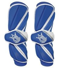 New Brine King V (5) Lacrosse Arm Guards Large Royal Blue Protective Gear Sports