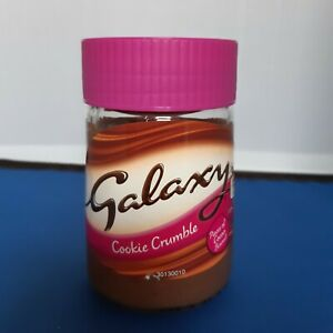 Galaxy Cookie Crumble Chocolate Spread 350g BRAND NEW