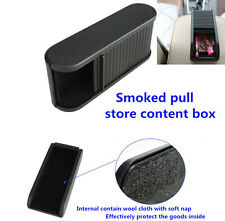 Car Plastic Pocket Sliding Dash Phone Money  Case Storage Box Holder Container
