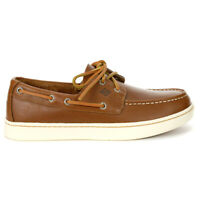 Sperry Top-Sider Men's Sperry Cup Tan Boat Shoes STS18791 NEW