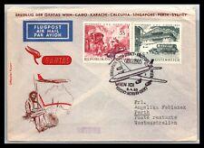 Gp Goldpath: Austria Cover 1965 First Flight To Australia Cv309_P03