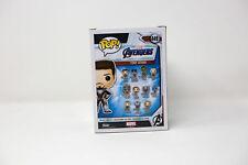 Funko Pop Marvel Avengers 4 Endgame # 449 Tony Stark Bobble-head Figure in Stock