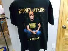 RODNEY ATKINS CONCERT T-SHIRT IT'S AMERICA TOUR XL COUNTRY MUSIC