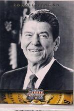 2012 Panini Americana Heroes & Legends Ronald Reagan