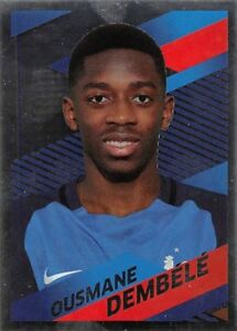 stickers Panini Carrefour Foot 2018 - N° 49 (argent)