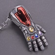 NEW Avengers Infinity War Endgame Iron Man Infinity Gauntlet Key Chains Keychain