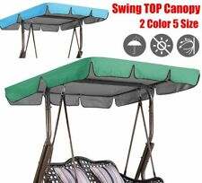 Replacement Canopy For Swing Chair 2/3 Seater Sizes Durable Garden Hammock Cover