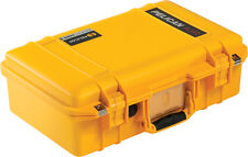 Yellow Pelican 1485 Air case with TrekPak dividers.