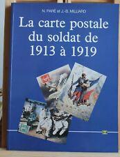 LA CARTE POSTALE DU SOLDAT DE 1913 à 1919