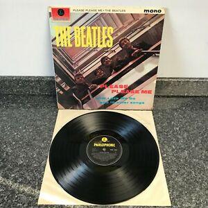 LP VINYL THE BEATLES  PLEASE PLEASE ME UK 3RD PRESS MONO 1963 VG/EX SUPER SOUND
