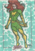 2010 Marvel Dangerous Divas PHOENIX XMen Sketch Card Rittenhouse Rodrigo Martins