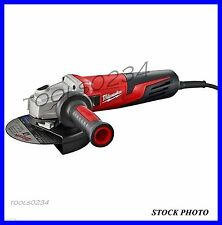"Milwaukee 6161-33 Small Angle Grinder 13 Amp 6"" Slide Lock-On Free Shipping"