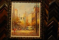 City - Morgan Oil Painting