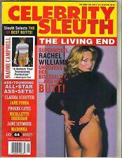 RACHEL WILLIAMS Celebrity Sleuth Magazine 1996 Vol 9 No 5 NAOMI CAMPBELL MADONNA