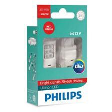 PHILIPS 11066ULRX2 Ultinon W21/5W RED Intense LED 12V Stop Light x2