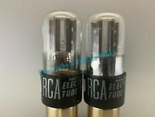 "Sylvania 6SN7GT 2-Hole ""BAD BOY"" Vacuum Tubes PLATINUM MATCHED on AT1000 VT-231"