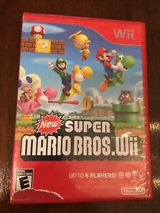 New Super Mario Bros. Wii (Nintendo Wii, 2009) No Manual Tested Working