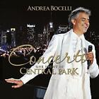 Andrea Bocelli - Concerto: One Night In Central Park - 2015 (NEW CD)