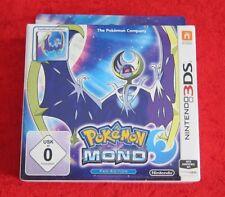Pokemon Mond Fan-Edition mit Steelbook, 3D Nintendo 3DS Spiel, Neu
