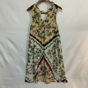 Speechless Womens Multicolor Floral Sleeveless V Neck A Line Dress Plus Size 2X