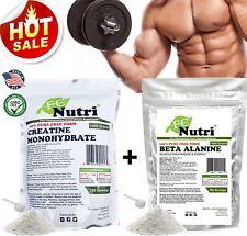 Beta Alanine 1000g + Creatine Mono1000g Pure Powder Optimum AMINO ENERGY