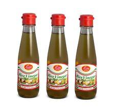 3 X 200ml Lee Brand Vinaigre de Riz pour Sushi Meilleur Convenable Vinaigre