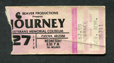 1979 Journey AC/DC Concert Ticket Stub Phoenix AZ If You Want Blood Evolution