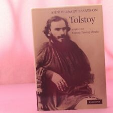 Anniversary Essays on Tolstoy Hardcover edited by Donna Tussing Orwin
