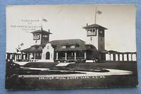 1910 Kansas City Missouri PHOTO Postcard ~ SHELTER HOUSE Swope Park ~ N/A RPPC