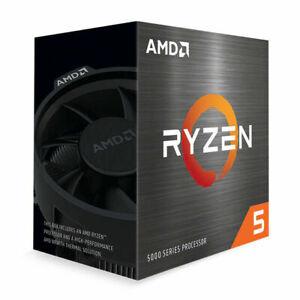 AMD Ryzen 5 5600X Procesador de Escritorio (4,6GHz, 6 Cores, Socket AM4) Box...