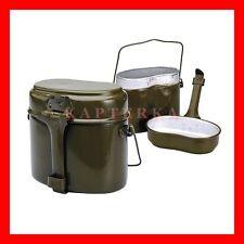 ☆ soviet russian army soldier military mess kit canteen kettle pot bowl kotelok