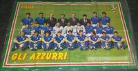 POSTER ITALIA 90 - GLI AZZURRI - GENTE - 1990 MAXI POSTER