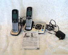Uniden D1680-3T Digital Cordless Answering System with 2 Handsets Silver