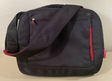 """Belkin Laptop Bag - Messenger Bag -  17"""" Red/Black"""