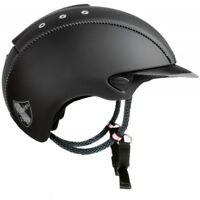 Casco Mistrall Schwarz Titan Größe L REITHELM Helm by Crownclub NEU