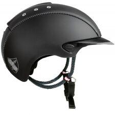 Casco Mistrall  Schwarz Titan REITHELM Helm by Crownclub NEU S